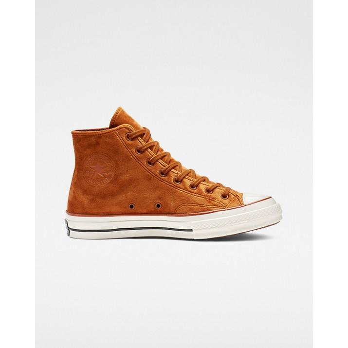 Womens Converse Chuck 70 Shoes Brown 890GTLJQ