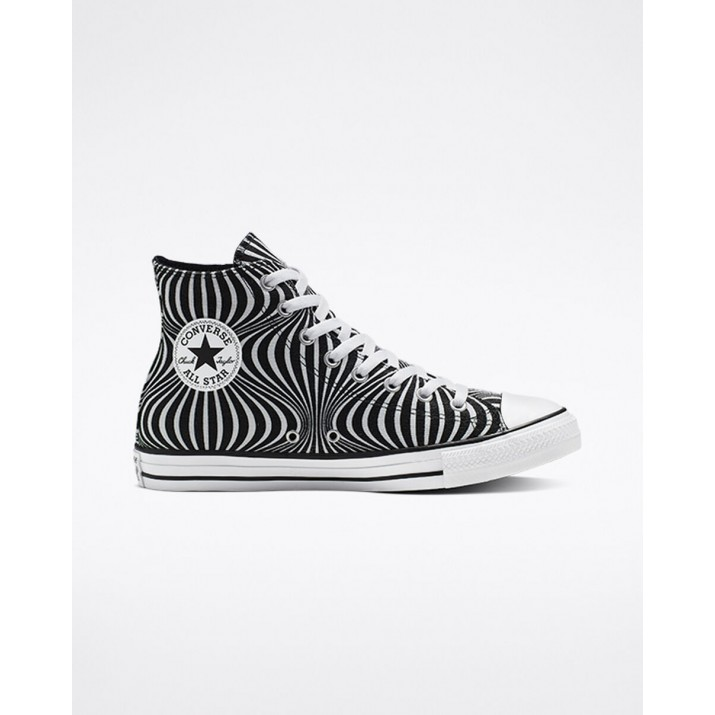 Converse Chuck Taylor All Star Mens Shoes Black/White 904UYGFG