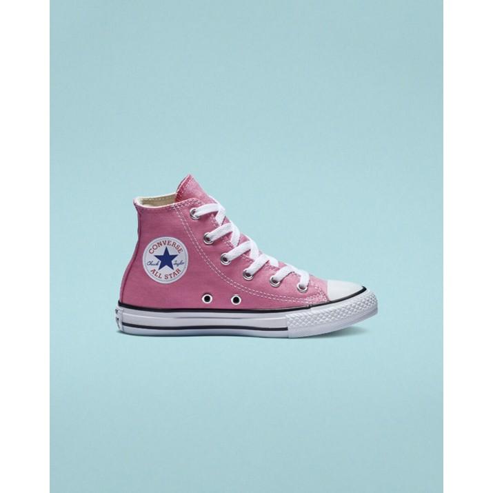 Converse Chuck Taylor All Star Kids Shoes Pink 916KAYUP