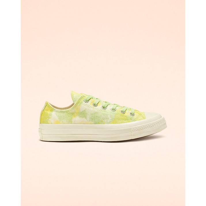 Womens Converse Chuck 70 Shoes Light Green/Yellow 946XMHFH