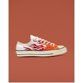 Mens Converse Chuck 70 Shoes White/Red 958KTSWW