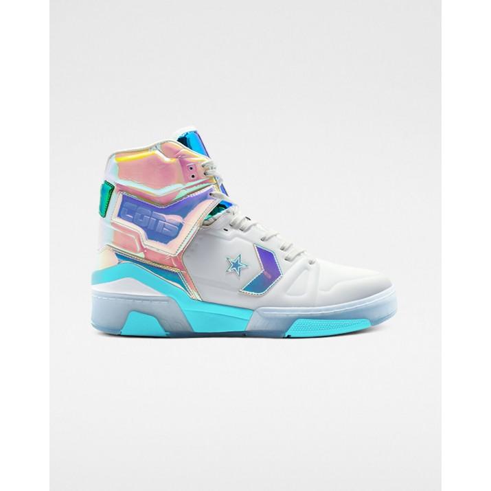 Mens Converse Erx Shoes White/Blue 961EEXMW
