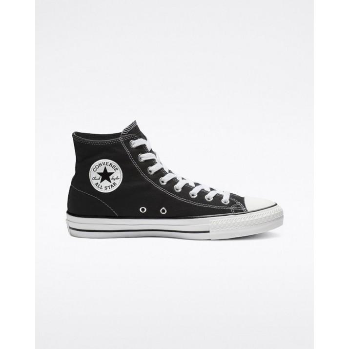 Mens Converse Ctas Pro Shoes Black/White 976SDUIY