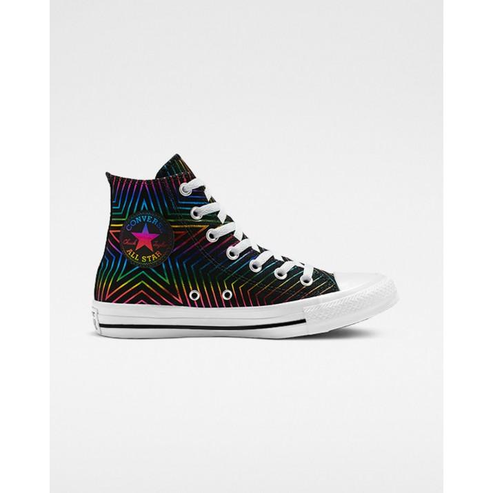 Womens Converse Chuck Taylor All Star Shoes Black/White/Black 977XLWTJ