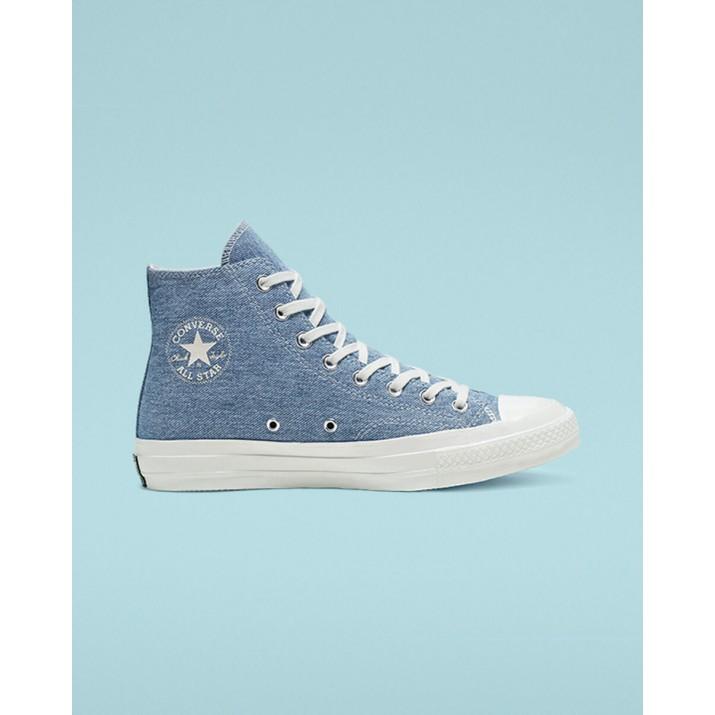 Zapatillas Converse Renew Denim Chuck 70 Mujer Azules Claro 995KYZQP